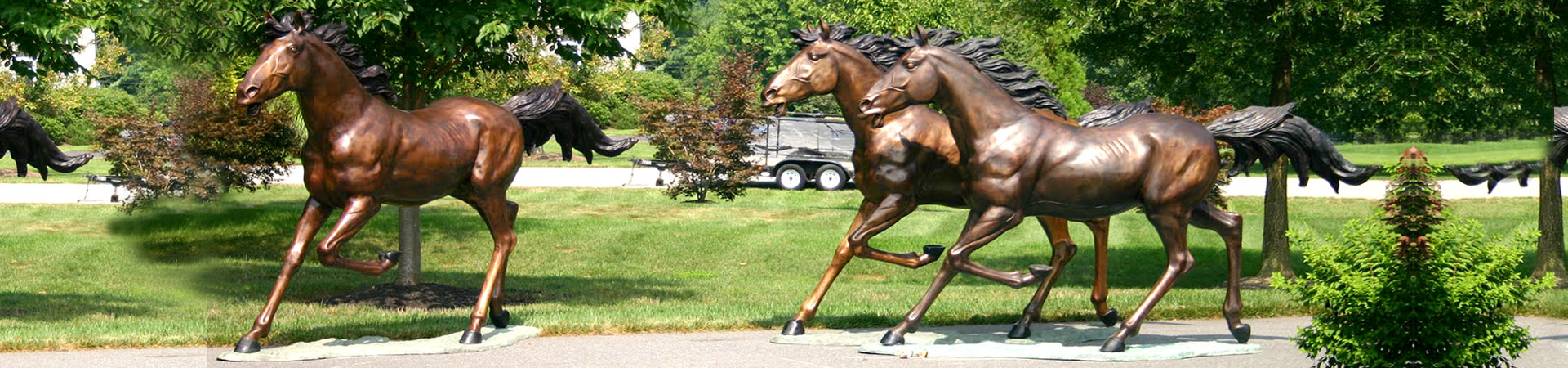 outdoor life size horse Statues/sculptures for sale