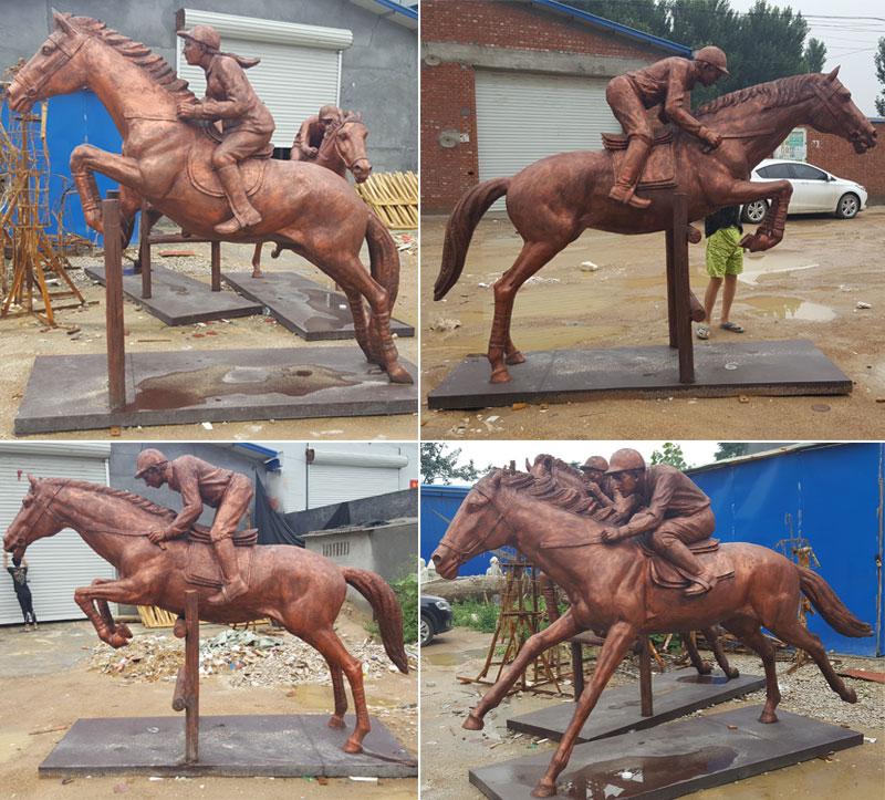 Full Size Horse Statue Bronze, Horse Garden Statues Australia