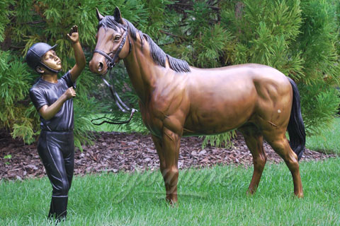 Factory Metal Craft Life Size Bronze Horse Sculptures