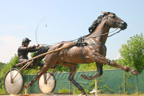 High Quality Bronze Riding Horse Sculpture