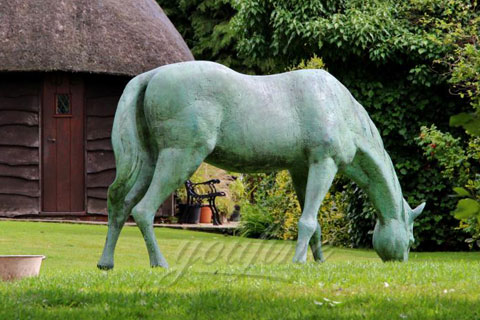 Standing Bronze Life Size Horse Statues