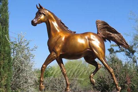 Hot sale decorative large horse bronze sculptures