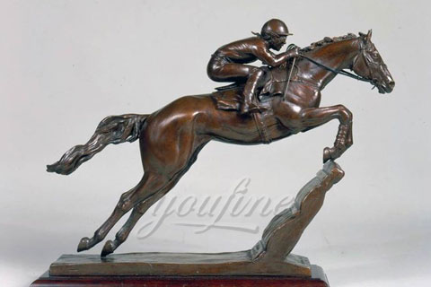 China supplier casting bronze horse figurine for sale