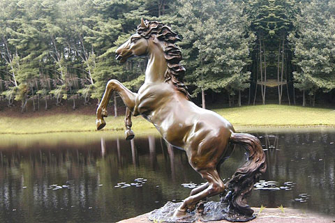 Outdoor large Outdoor Horse Statues for garden