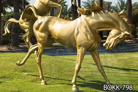 Outdoor Bronze Horse Statue